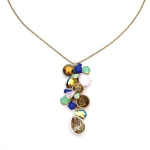 J.Crew Multicolor Crystal Statement Necklace